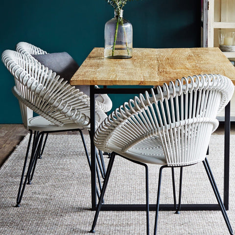 Dining Chair | Curly - White