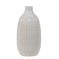 Salvada Ceramic White Vase - Originals Furniture