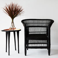 African Malawi Armchair | Black - Originals Furniture