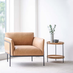 Leather Armchair | Scribe - Canyon