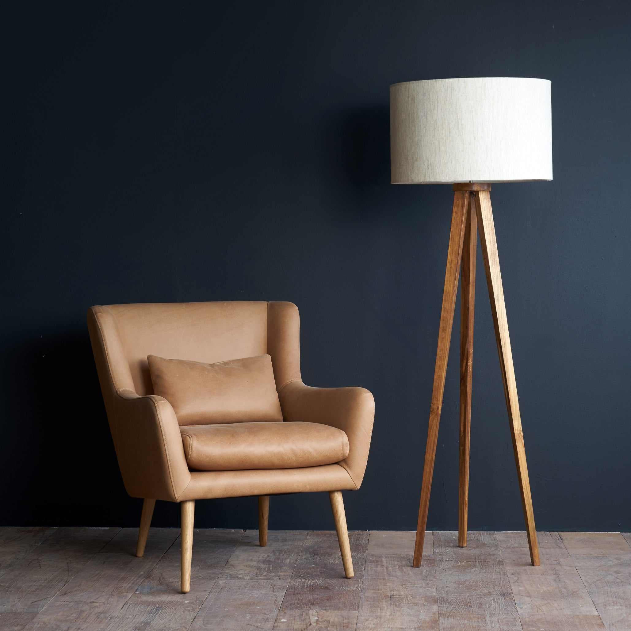 Leather Armchair | Nelly - Canyon