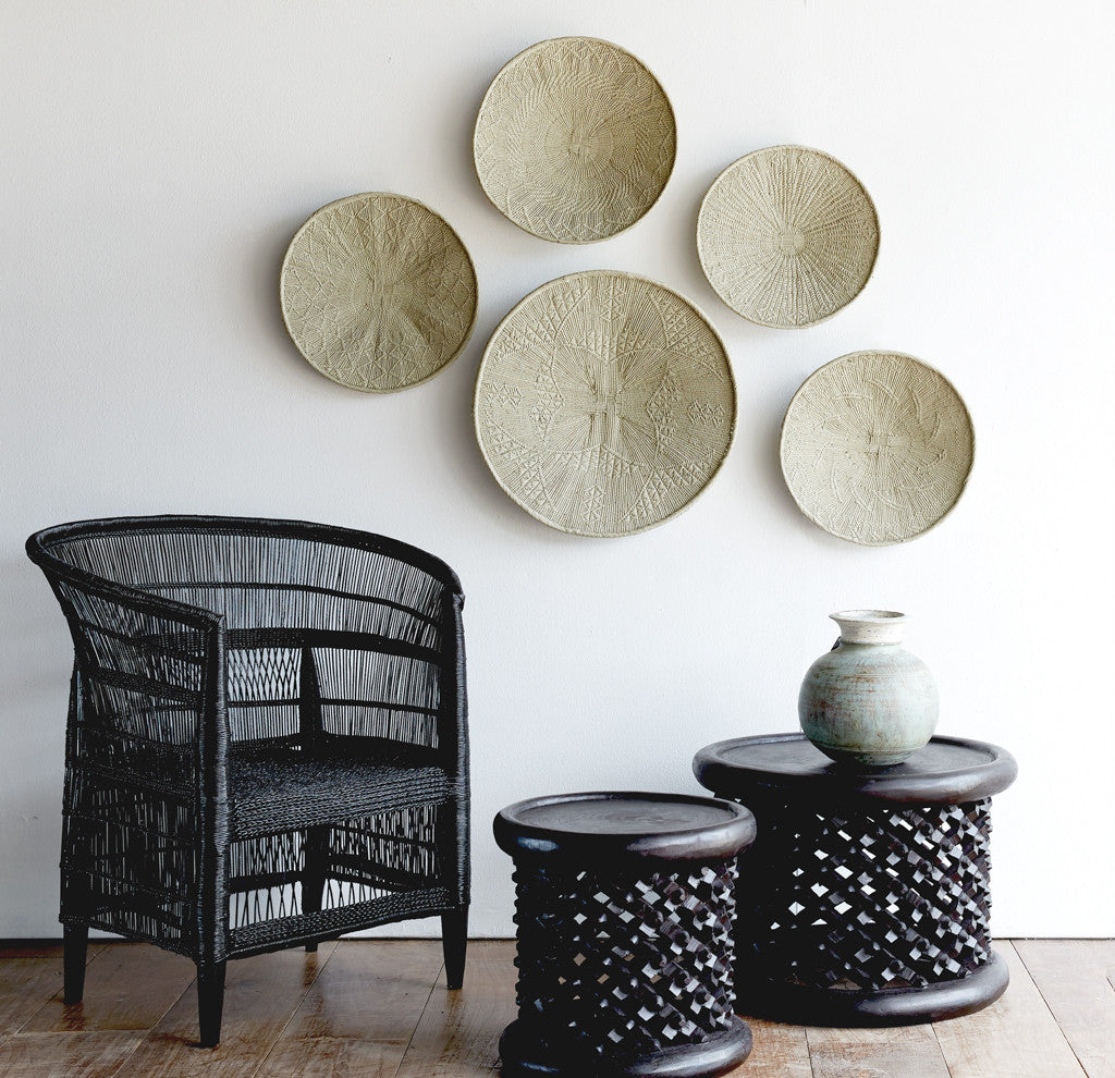 Bamileke Stools/ Coffee Table Black - Nomad Tribe - Originals Furniture - Singapore - 1