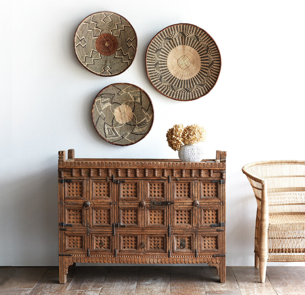 Tonga Baskets Natural - Nomad Tribe - Originals Furniture - Singapore
