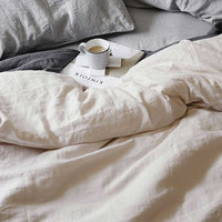 Linen Duvet Set | Natural