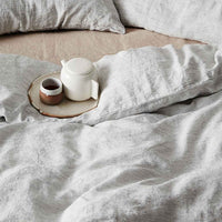 Linen Duvet Set | Pin Stripe - Originals Furniture