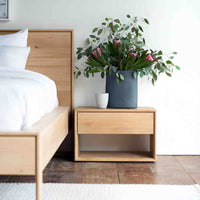 Oak Bedside Table | Nordic - Originals Furniture