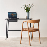 Oak Desk | Author - Black