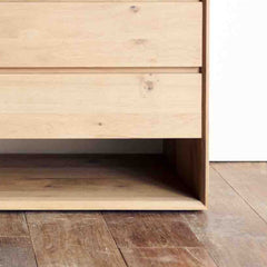 Oak Chest of Drawers | Nordic - 3 Drawers