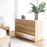 Oak Chest of Drawers | Nordic - 3 Drawers - Originals Furniture