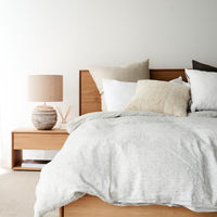 Linen Duvet Set | Pin Stripe
