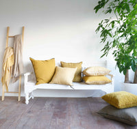 Cushion VV Linen - Ochre - Originals Furniture