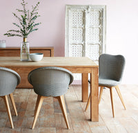 Dining Chair Teak | Jack - Grey Wash - Originals Furniture