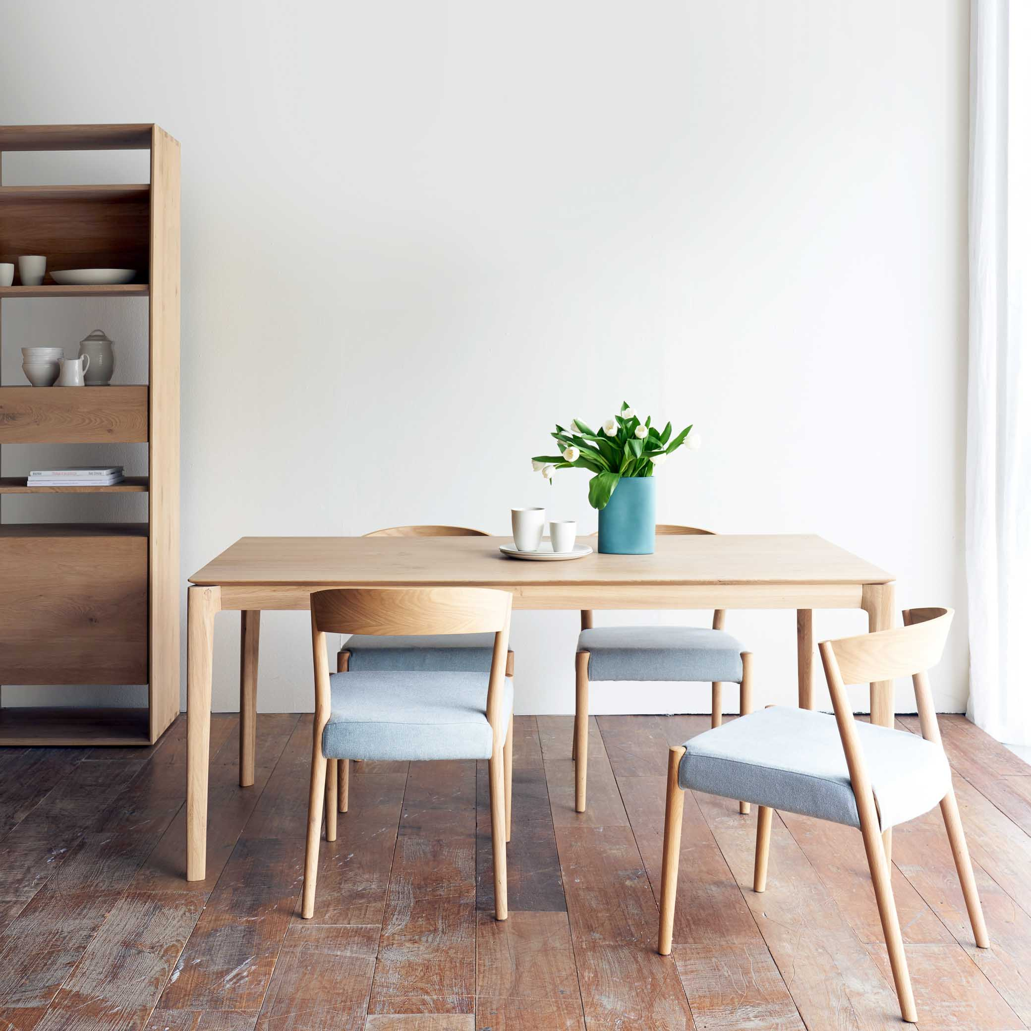 Oak Dining Chair | Ronda Weathered Grey