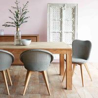 Dining Chair | Lily - Grey Wash - Originals Furniture