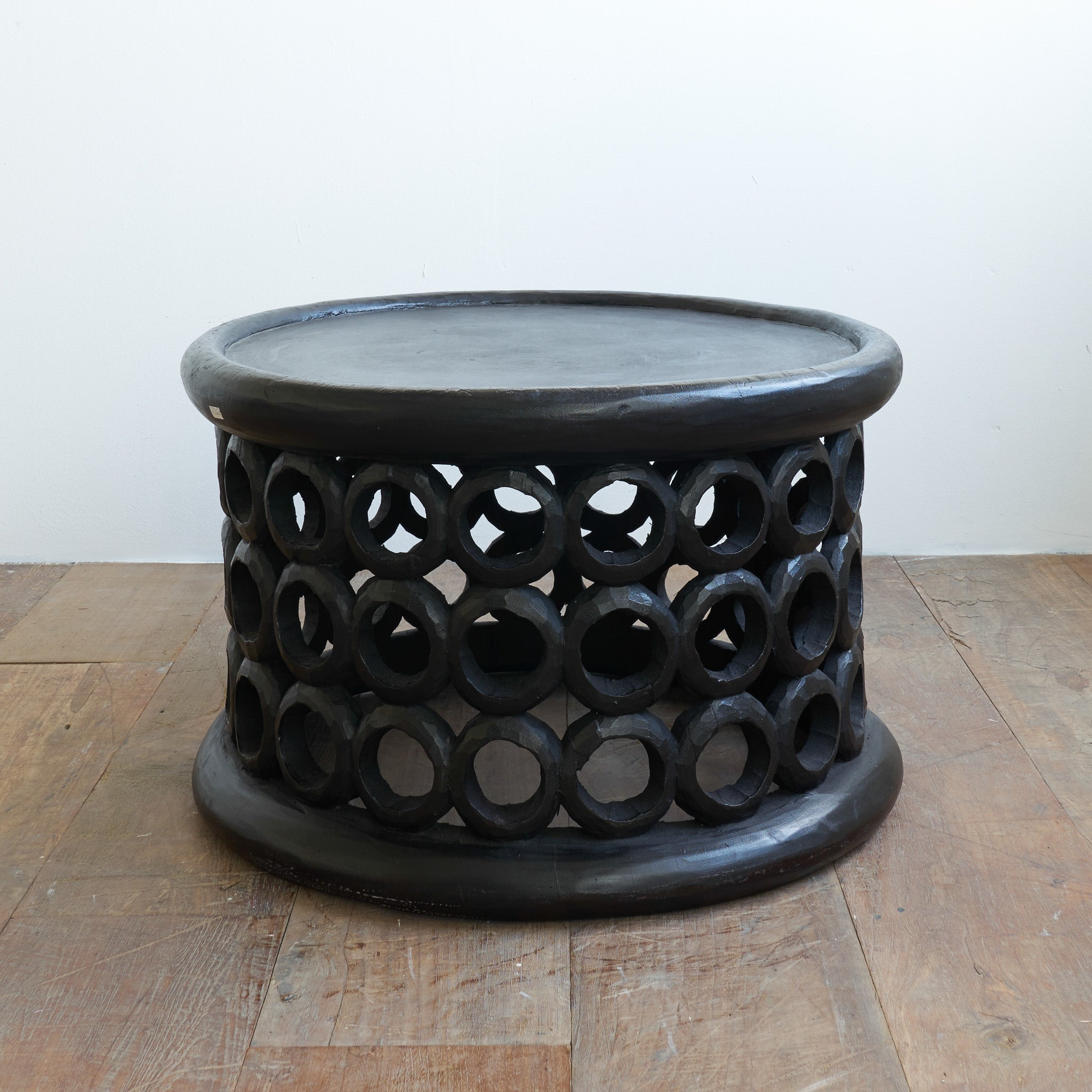 Donut Ring Stool | Black