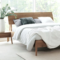 Teak Bed Frame | Air Bed Singapore Size