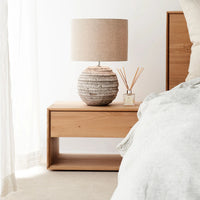 Oak Bedside Table | Nordic