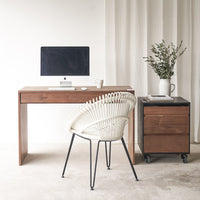 Teak Desk | Wave - Originals Furniture