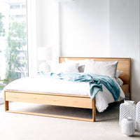 Oak Bed Frame | Nordic Bed Australia Size - Originals Furniture