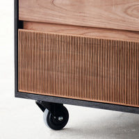 Teak Drawer Unit | Oscar 3 Drawers