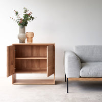 Oak Sideboard | Nordic- 2 Doors