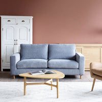 Fabric 2.5 Seater Sofa | Ponte - Weathered Grey