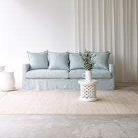 Fabric 3 Seater Sofa | Charlie - Sky - Originals Furniture
