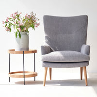 Fabric Armchair | Pelagonia - Weathered Grey