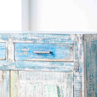 Frame Teak Sideboard | 3 Door 3 Drawer Recycle - Originals Furniture
