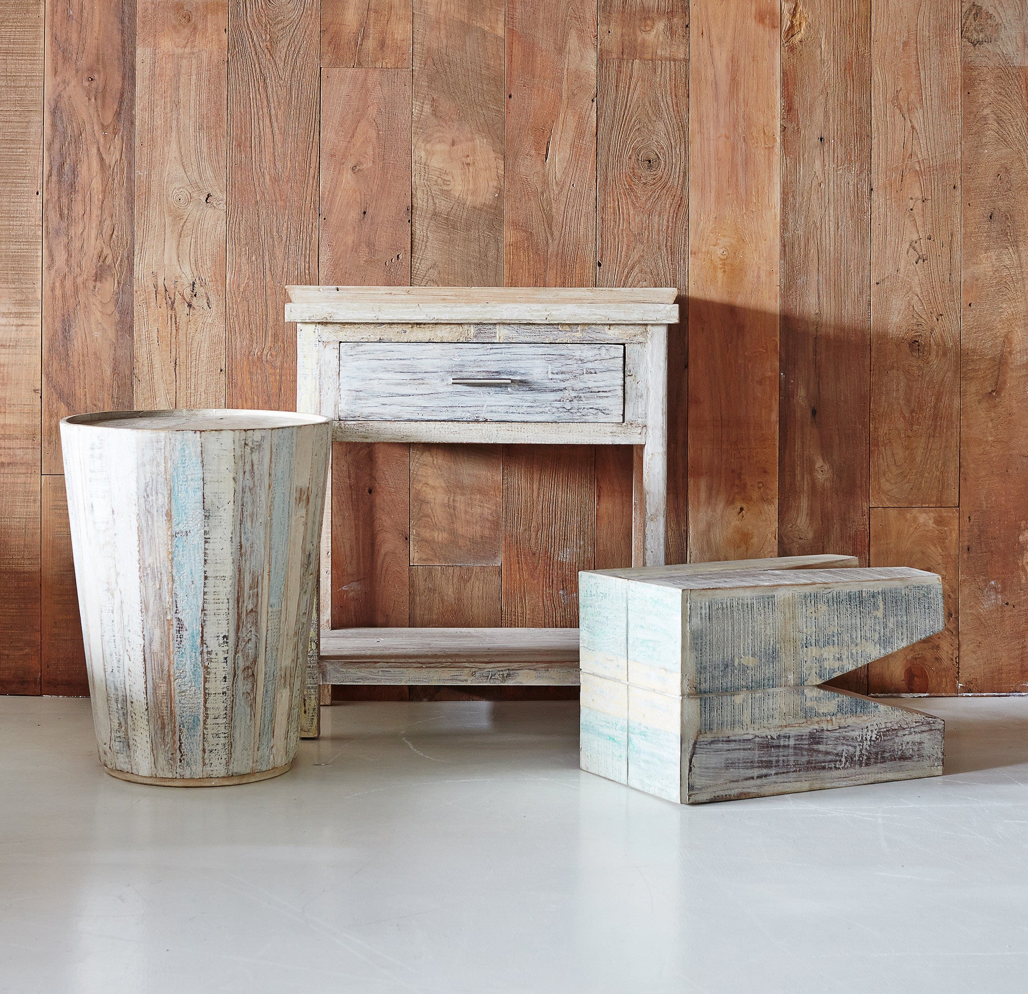Indian Stool Recycled-Nomad India-Originals Furniture - 3