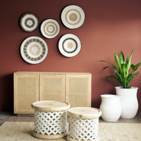 Basket | Tonga White Stripe - Originals Furniture