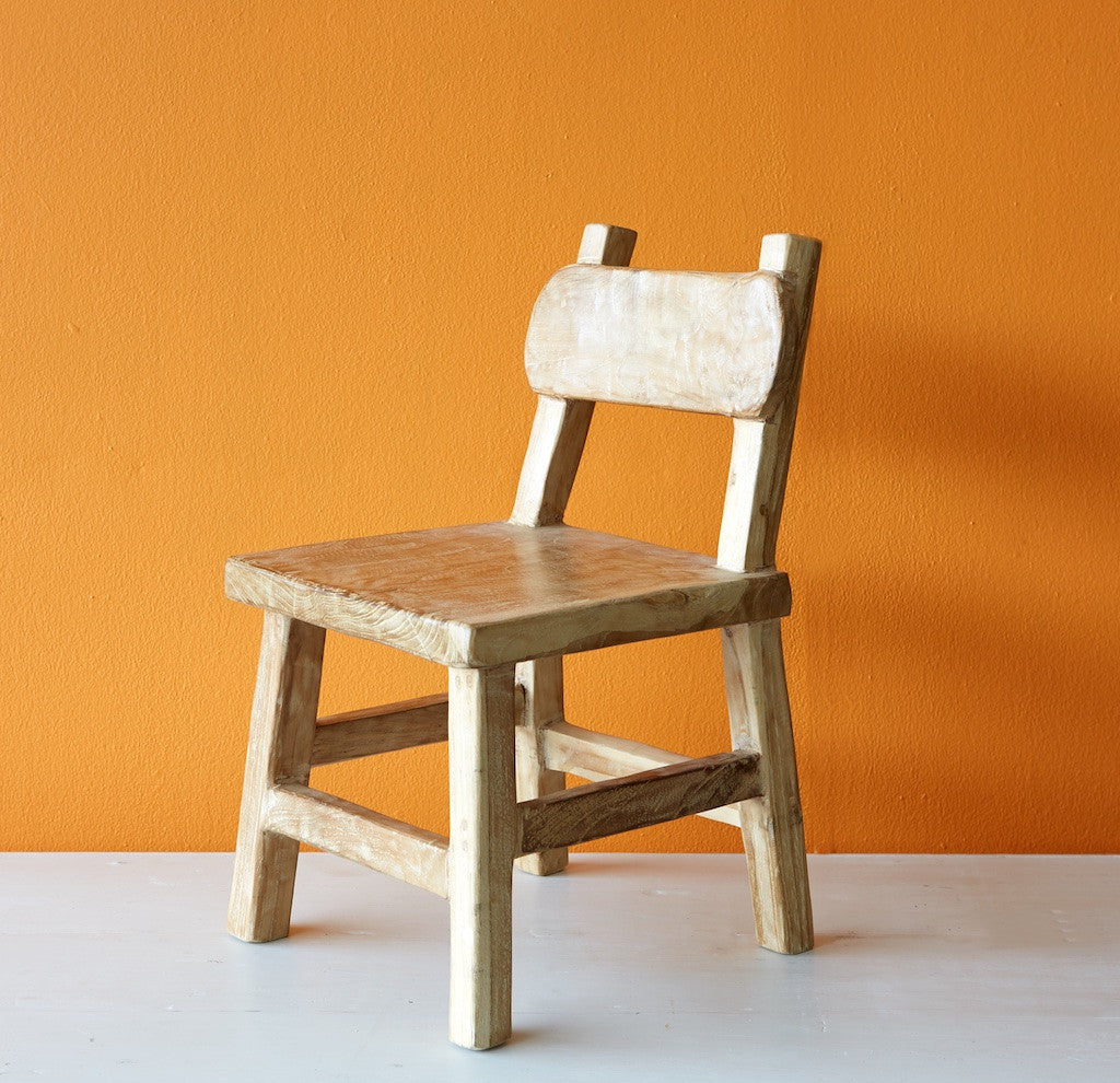 Teak Kid's Chair-Nomad Village-Originals Furniture - 2