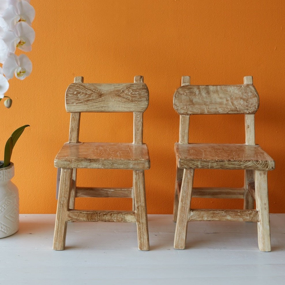 Teak Kid's Chair-Nomad Village-Originals Furniture - 1