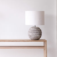 Table Lamp | Awasa - Antique Grey