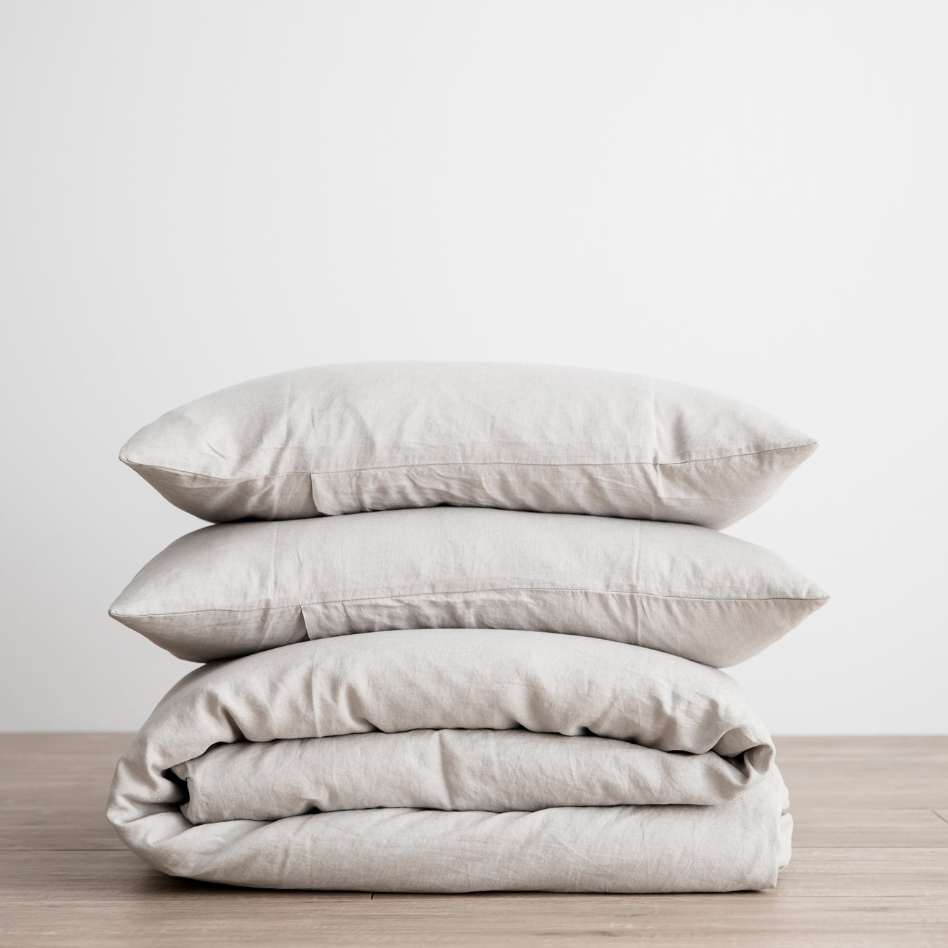 Linen Duvet Set | Smoke Grey