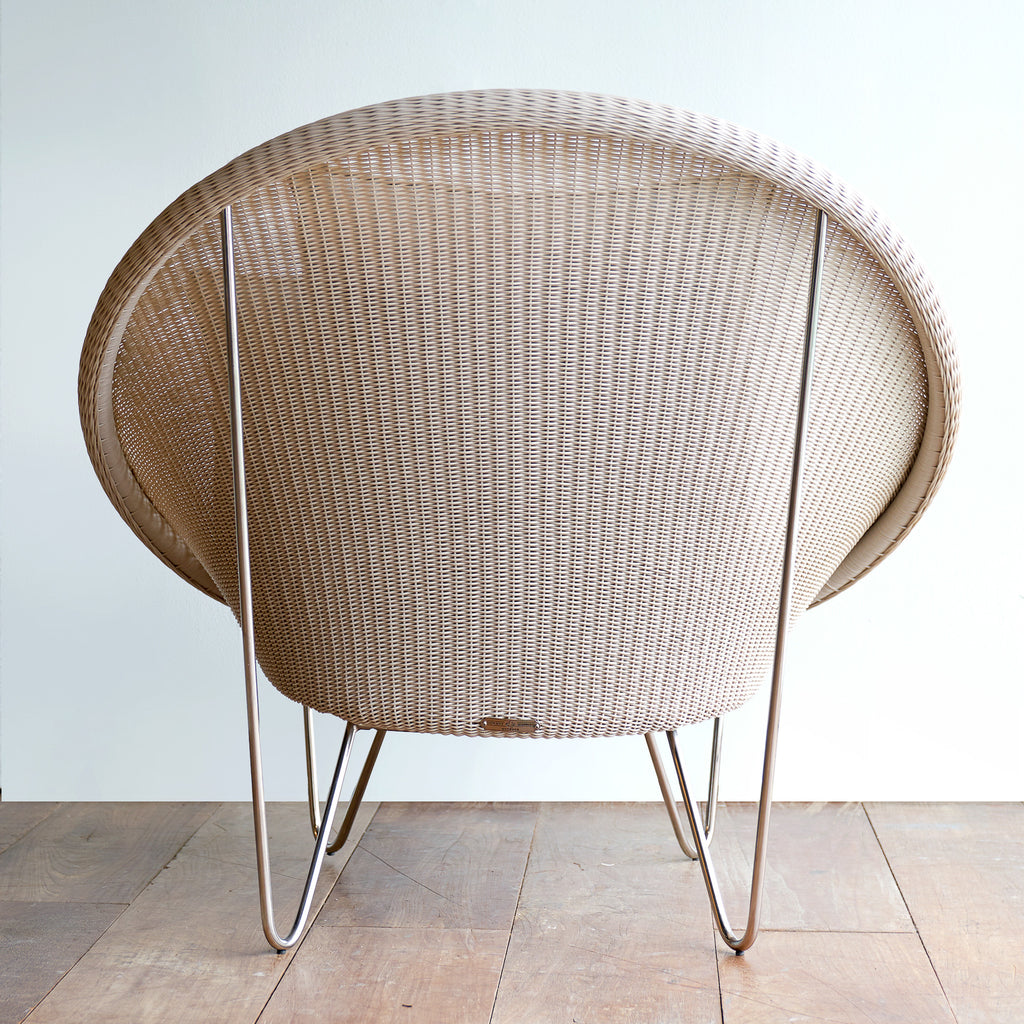 gipsy cocoon chair old lace grey cushions