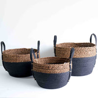 Nandos Basket | Set of 3 - Black - Originals Furniture
