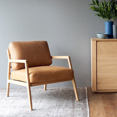 Leather Armchair | Nysse - Canyon