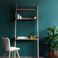 Wally Oak Shelf | Wall Desk, 2 shelves-Nomad Home-Originals Furniture - 1