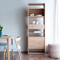 Oak Cupboard | Nordic - 1Door/1Drawer - Originals Furniture