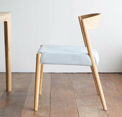 Oak Dining Chair | Ronda Blue