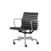 Office Chair | Black Leather