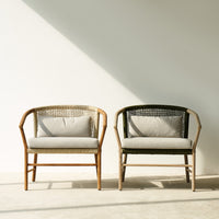Outdoor Lounge Chair | Icon - Beige