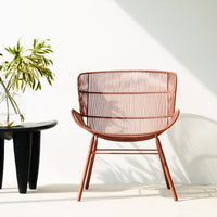 Outdoor Lounge Chair | Rose - Coral