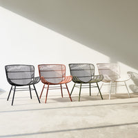 Outdoor Lounge Chair | Rose - Lava