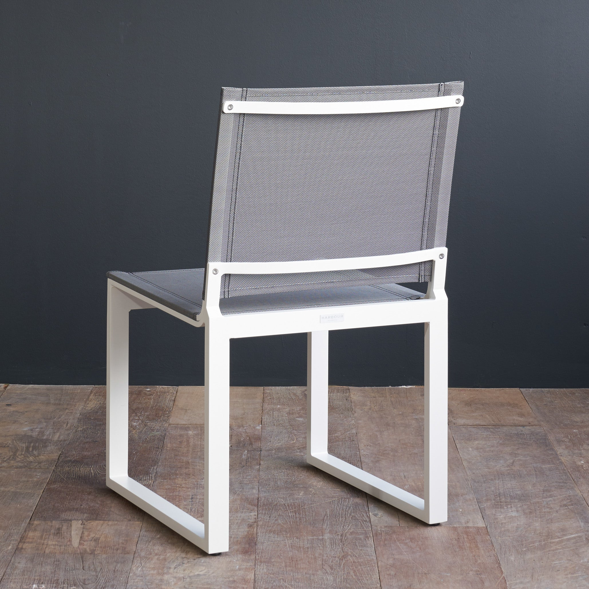 Piano Dining Chair | White