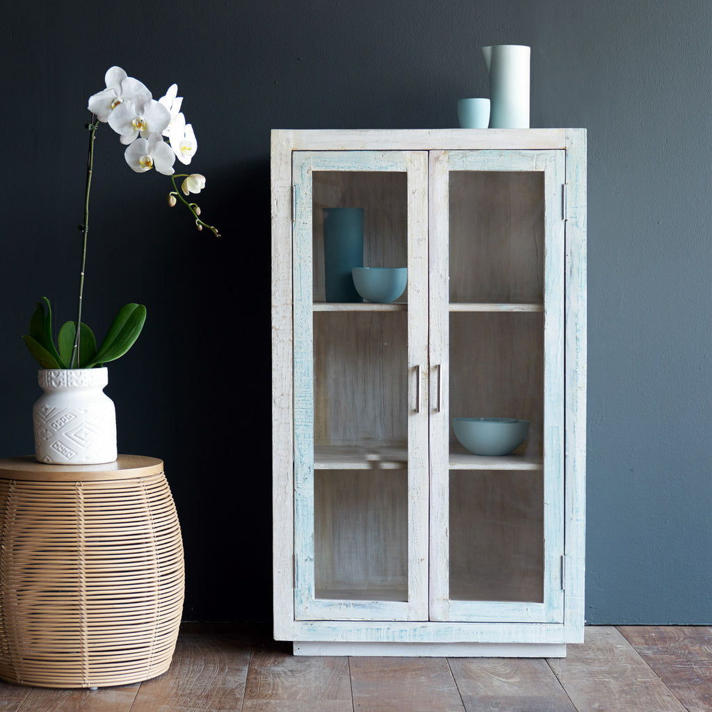 Ledge Cabinet with Full Glass doors