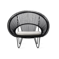 Cocoon Chair | Cruz - Black - Originals Furniture