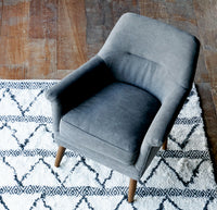 Fabric Armchair | Perry - Dark Grey - Originals Furniture
