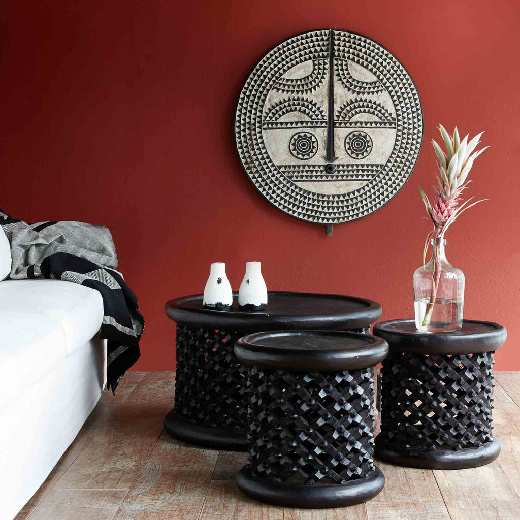 Bamileke Stool | Black